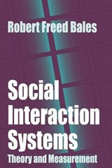 Social Interaction Systems | Robert Freed Bales |