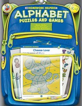 Alphabet Puzzles and Games, Homework Helpers, Grades K-1