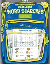 Homework Helpers Challenge Word Searches Grades K - 1