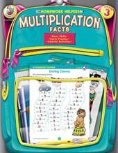 Homework Helpers Multiplication Facts Grade 3