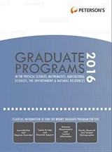 Graduate Programs in Physical Sciences, Mathematics, Agricultural Sciences, Environment & Natural Resources | Peterson's |