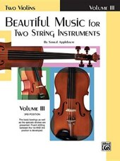 Beautiful Music for Two String Instruments | Samuel Applebaum |