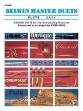 Belwin Master Duets Flute, Easy