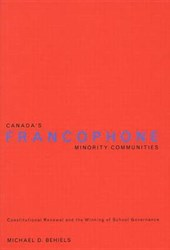 Canada's Francophone Minority Communities