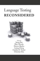 Language Testing Reconsidered | auteur onbekend |