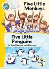 Five Little Monkeys and Five Little Penguins