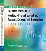 Essentials of Research Methods in Health, Physical Education | Kris Berg |