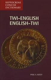 Twi-English/English-Twi Concise Dictionary
