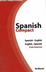 Spanish-English/English-Spanish Compact Dictionary | Ila Warner |