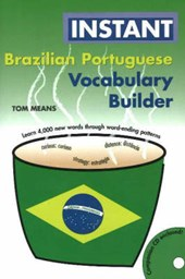 Instant Brazilian Portuguese Vocabulary Builder [With CD]