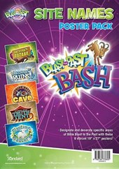 Bible Blast to the Past Site Names Poster Pack