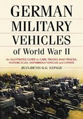 German Military Vehicles of World War II