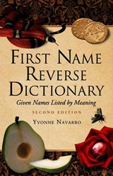 First Name Reverse Dictionary | Yvonne Navarro |