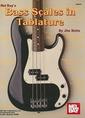 Mel Bay's Bass Scales in Tablature