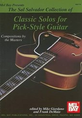 Mel Bay Presents The Sal Salvador Collection of Classic Solos for Pick-Style Guitar