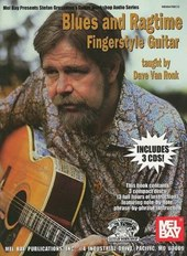 Blues and Ragtime Fingerstyle Guitar [With 3 CDs] | Dave Van Ronk |