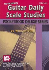 Mel Bay Presents Guitar Daily Scale Studies | William Bay |