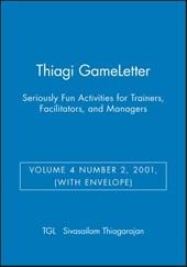 Thiagi GameLetter