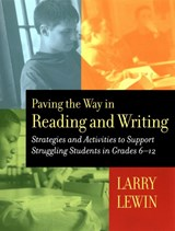 Paving the Way in Reading and Writing | Larry G. Lewin |
