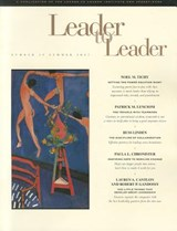 Leader to Leader (LTL), Volume 29, Summer | Joe LeBoeuf |