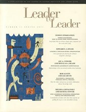 Leader to Leader (LTL), Volume 32, Spring