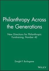Philanthropy Across the Generations