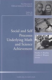 Social and Self Processes Underlying Math and Science Achievement