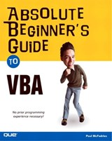 Absolute Beginner's Guide to VBA | Paul McFedries |