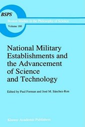 National Military Establishments and the Advancement of Science and Technology