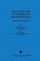 Analysis and Synthesis in Mathematics | Michael Otte |