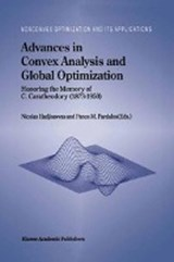 Advances in Convex Analysis and Global Optimization |  |