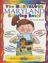 The Marvelous Maryland Coloring Book! | Carole Marsh |
