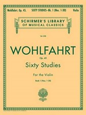 Sixty Studies for the Violin, Op.