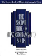 Second Book of Mezzo Soprano Alto Solos