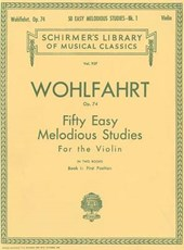 50 Easy Melodious Studies, Op. 74 - Book