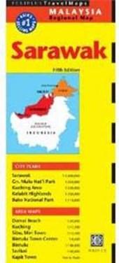 Periplus Travel Map Sarawak