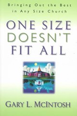 One Size Doesn't Fit All | Gary L. McIntosh |