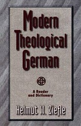 Modern Theological German |  |