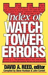 Index of Watchtower Errors 1879 to | David a. Reed |