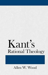 Kant's Rational Theology | Allen W. Wood |