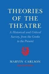 Theories of the Theatre | Marvin Carlson |