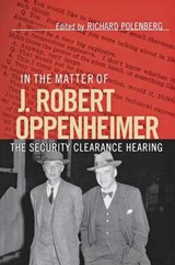 In the Matter of J. Robert Oppenheimer | auteur onbekend |