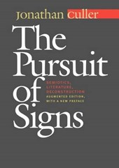 The Pursuit of Signs | Jonathan Culler |