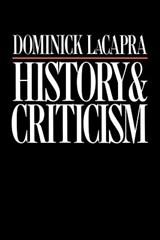 History and Criticism | Dominick LaCapra |