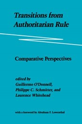 Transitions from Authoritarian Rule V