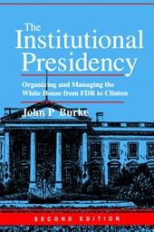 The Institutional Presidency