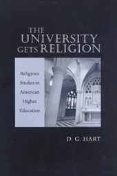 The University Gets Religion
