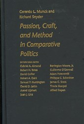 Passion, Craft, and Method in Comparative Politics | Gerardo L. Munck |