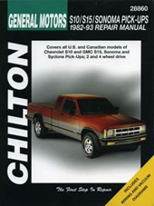 Chevrolet S10, S15, Sonoma, and Pick-Ups, 1982-93