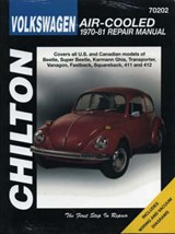 Volkswagen Air-Cooled, 1970-81 | Chilton Automotive Books |